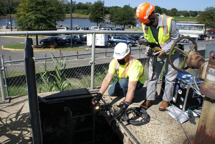 sewer-inspection-elios-2-entrance