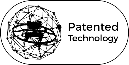 Patented Technology Black Trimmed