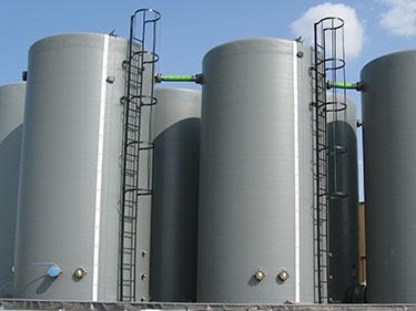 Chemischen - Glasfaser lagertanks