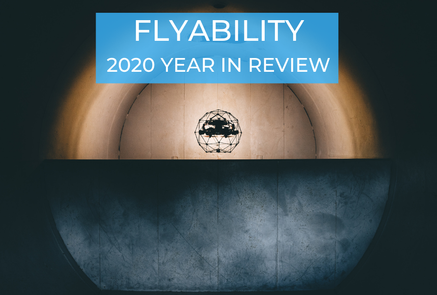 Flyability's 2020 Year in Review—7 Million Euros Raised, Mission to Chernobyl, Data Localization, 21,000+ Webinar Registrants, and More