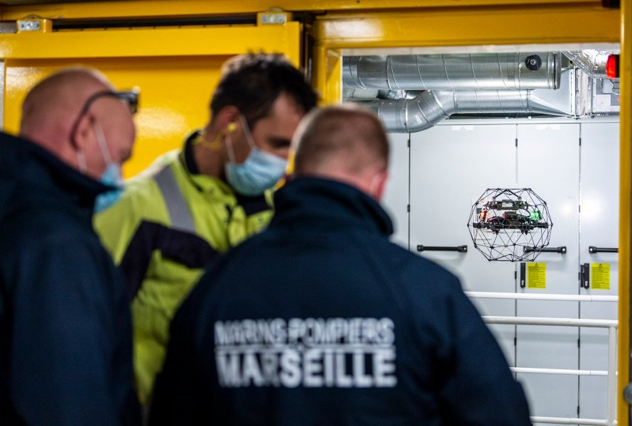 Indoor Drones for Public Safety—3 Real Use Cases from the Madrid Police, Marseille Firefighters, and Rotterdam Fire Brigade