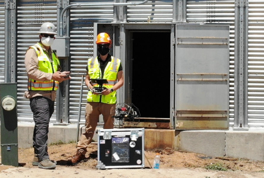 Grain Bin Inspections See Improved Safety, 95% Cost Reduction with Elios 2
