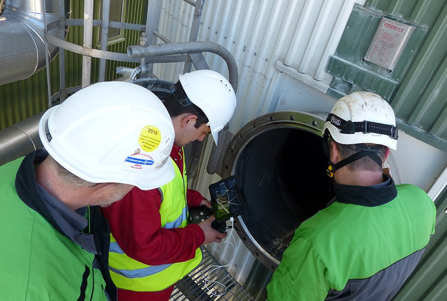 Inspecting a Recovery Boiler with the Elios Indoor Drone: Accessing Hard-to-Reach Places
