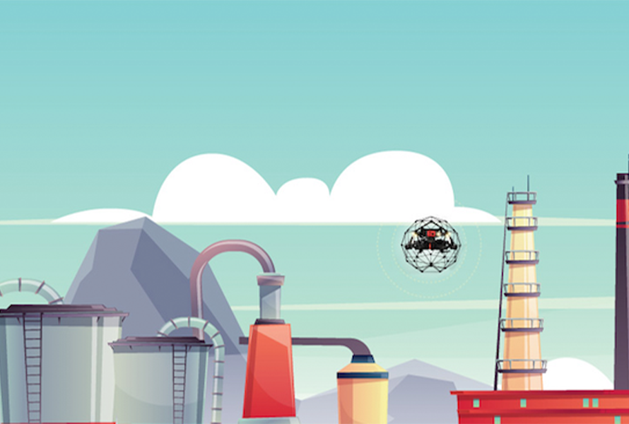 Infographic—Oil & Gas Inspections with Indoor Drones