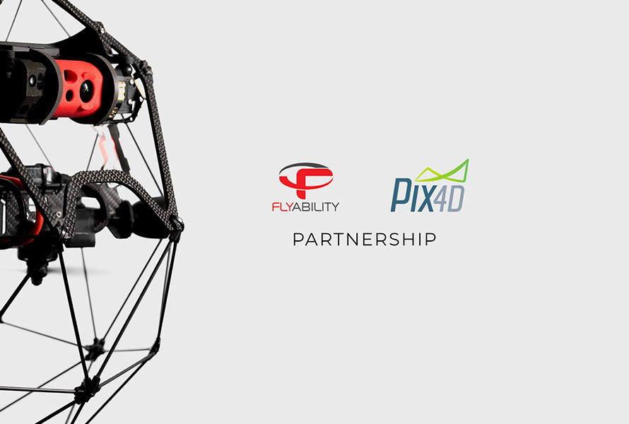Flyability and Pix4D enter partnership to accelerate the growth of indoor 3D modelling