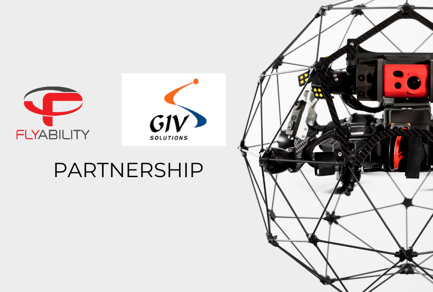GIV Solutions partners with Flyability to bring world class indoor drones to Israel