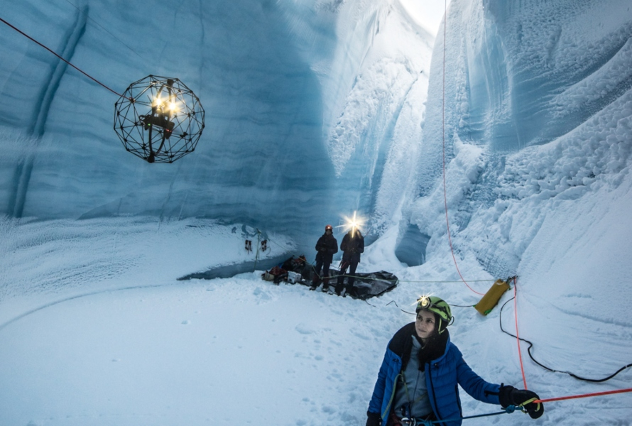 Flyability's Elios Used to Explore Some of the Deepest Ice Caves in the World