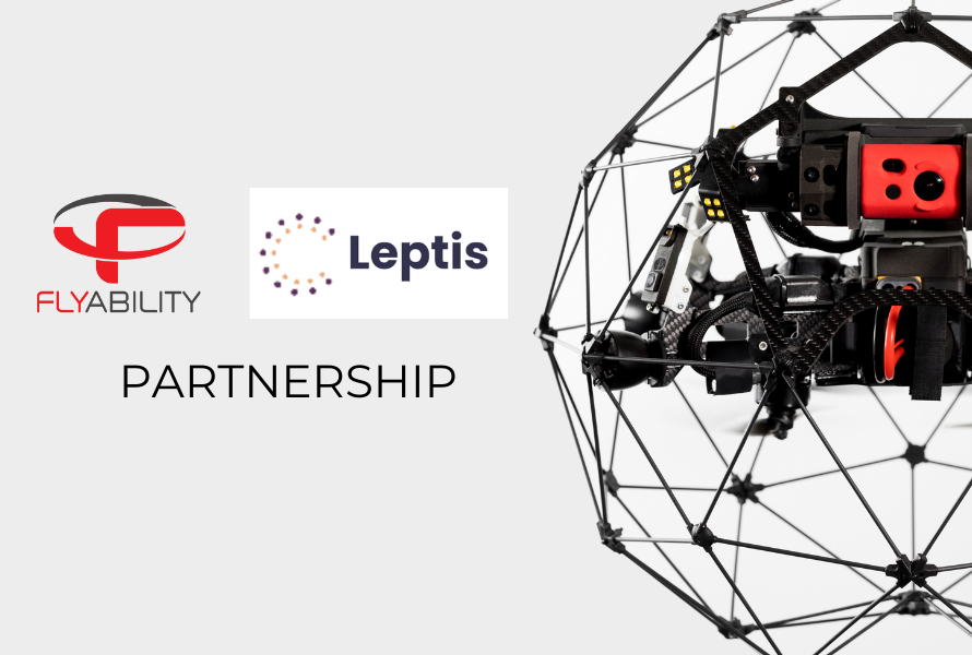 Leptis Libya Tech partners with Flyability to bring world class indoor drones to Libya