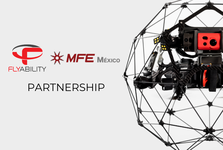 MFE Mexico partners with Flyability to revolutionize internal inspections