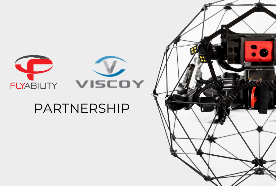 Viscoy partners with Flyability to bring world class indoor drones to Singapore, Malaysia, and Brunei