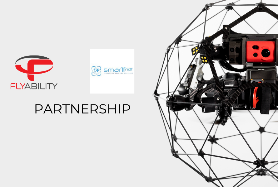 Smart NDT partners with Flyability to bring world class indoor drones to Italy