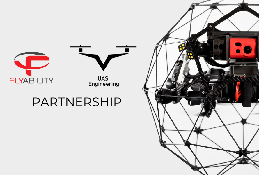 UAS Engineering partners with Flyability to bring world class indoor drones to Turkey