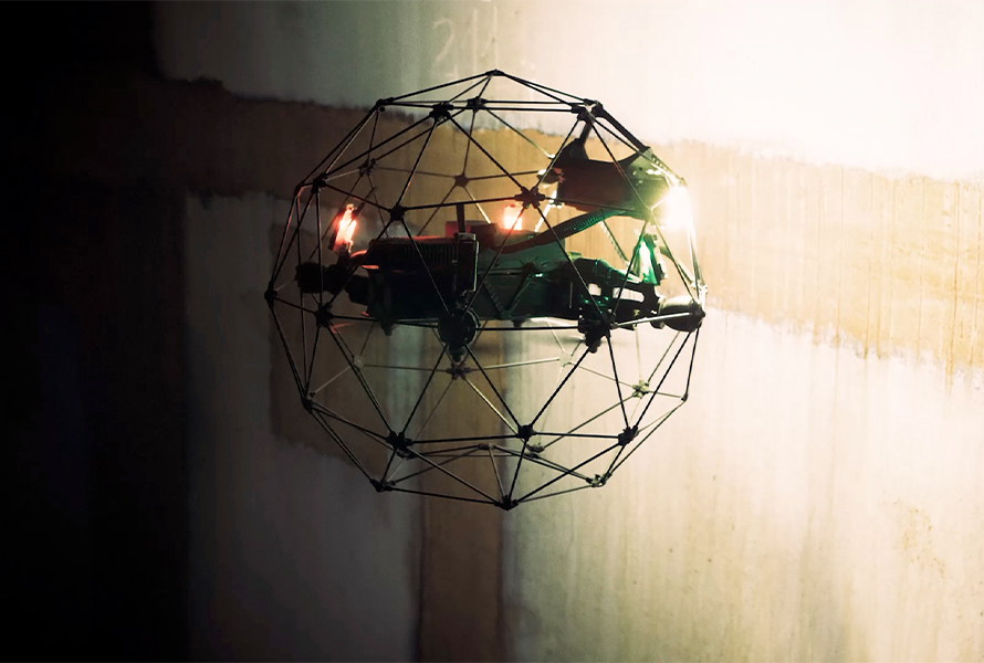 What Does a Drone Cage Do? Use Cases, Types, and Indoor Inspection Applications