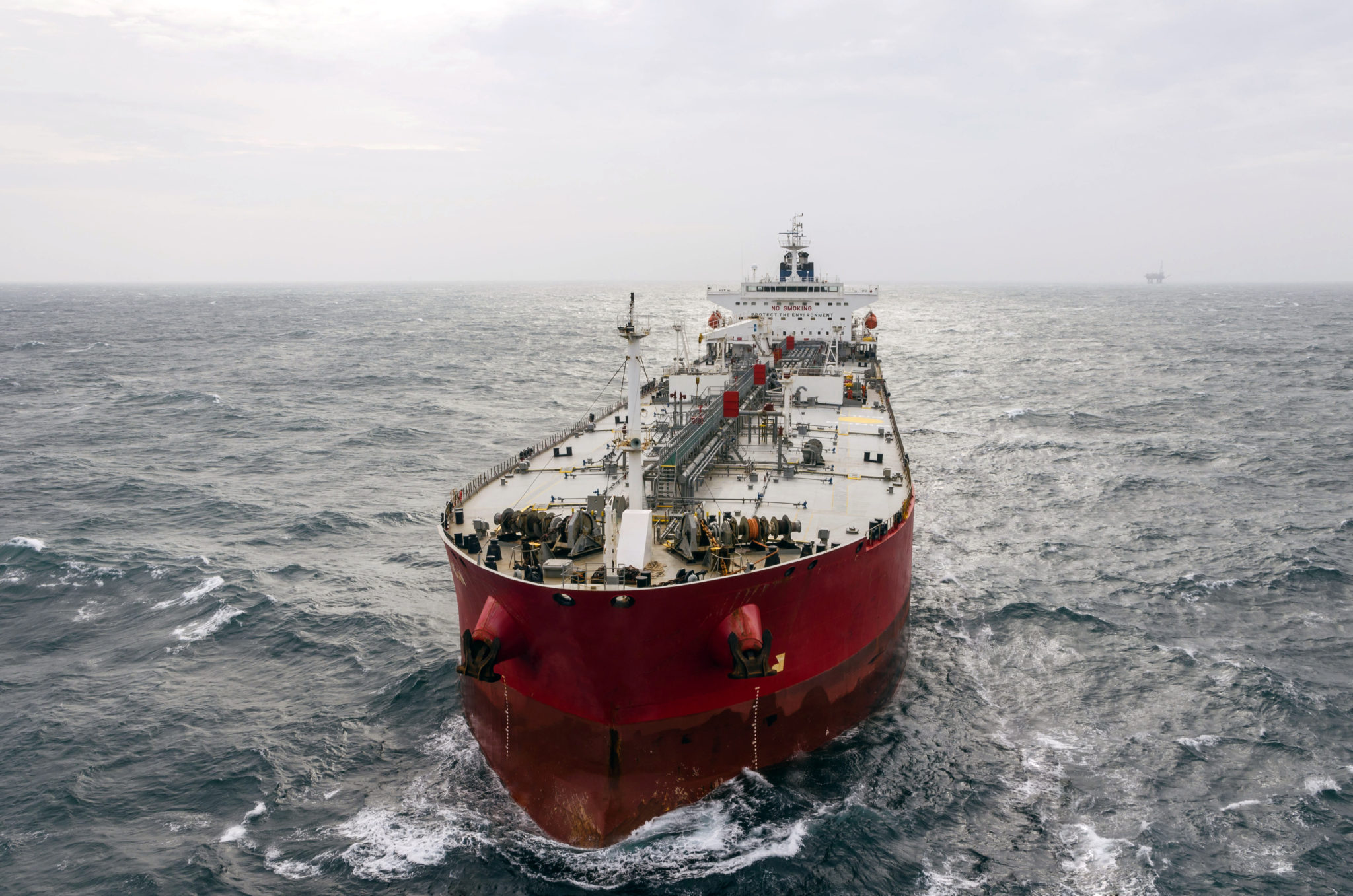 Drones successfully tested to inspect maritime assets