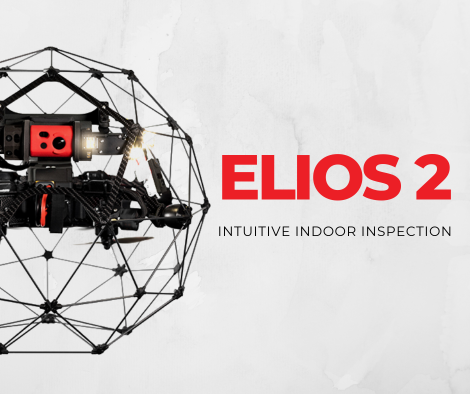 Flyability Launches Elios 2 for Intuitive Indoor Inspections