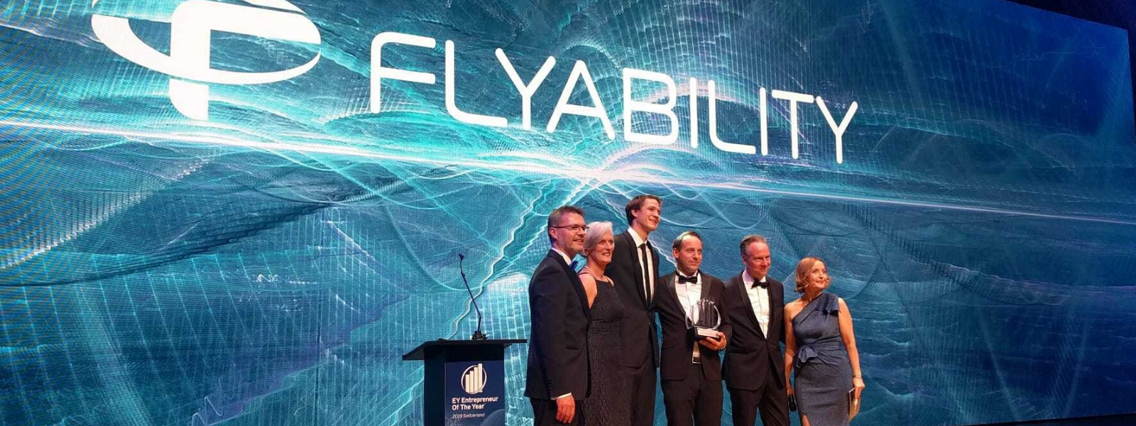 Flyability's founders nominated EY Entrepreneur of the Year